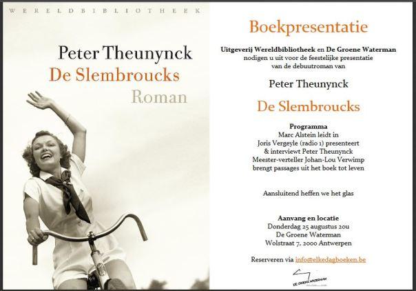 De Slembroucks - uitnodiging